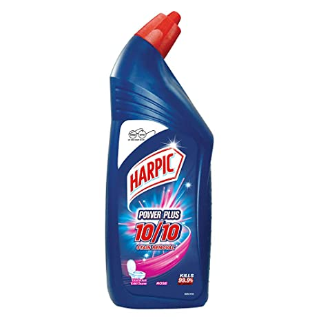 Harpic Powerplus Toilet Cleaner Rose, 1 L