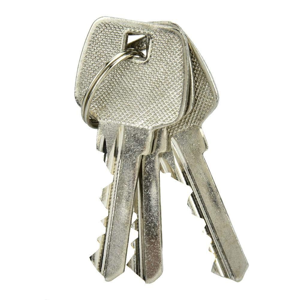 cobre antirrobo de 60 mm Cilindro de cerradura de puerta abierta doble Sistema de seguridad de puerta de entrada de seguridad para oficina en el hogar Cilindro de cerradura de puerta con llaves