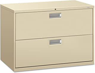 product image for HON 600 Series 42 Inch Two Drawer Lateral File