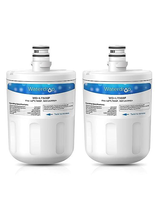 Waterdrop LT500P Cartucho de Filtro de Agua para Nevera ...