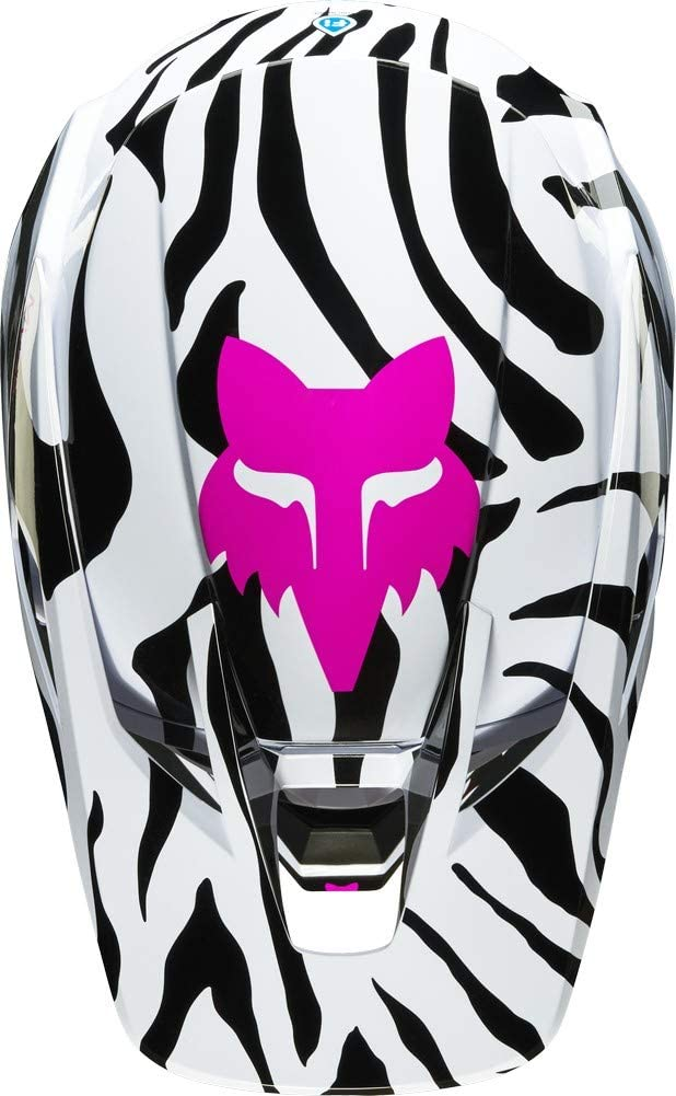 Zebra LE Fox Racing 2019.5 V3 Helmet