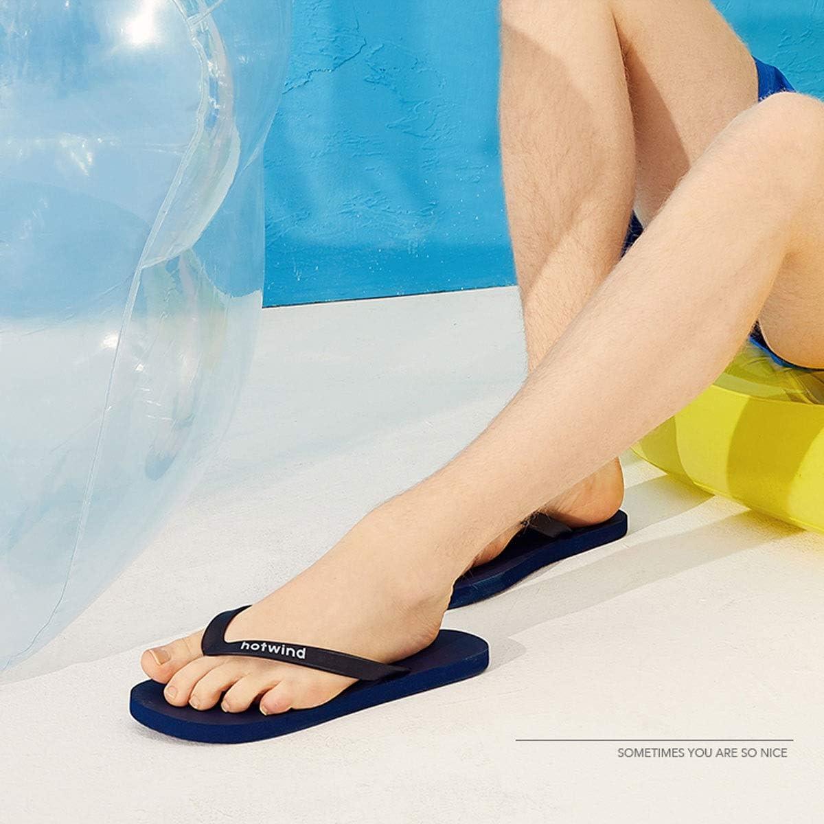 KUQIQI Ciabatte Infradito, Sandali e Ciabattine da Spiaggia alla Moda con Fondo Piatto da Uomo e Donna Prodotti di Alta qualità D