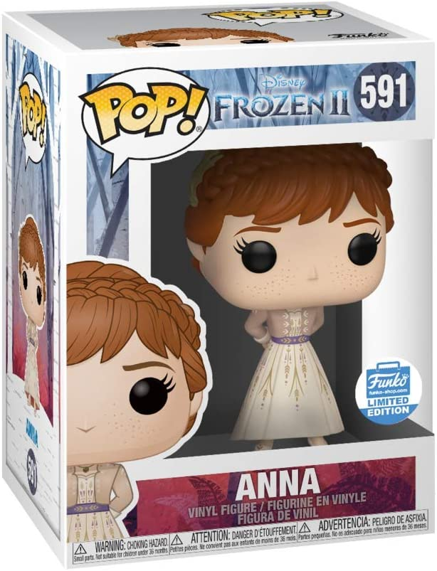 Anna Formal Funko Pop Vinyl New in Box Disney Frozen 2