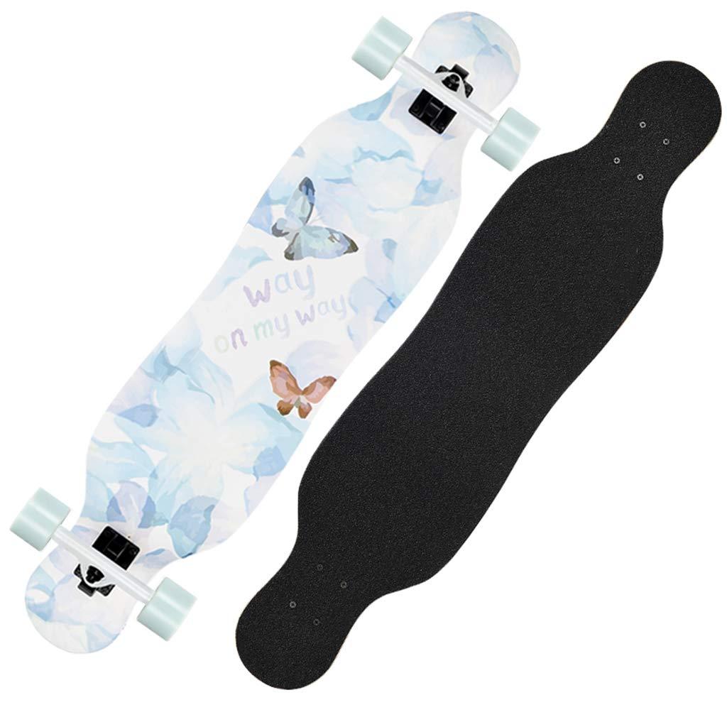 100%本物保証! スケートボードドロップスルーカナダのメープル凹デッキ B07QZDKPDV、盛り合わせスタイル #2、フリースタイルと41インチロングボードスケートボード #2 B07QZDKPDV, 本物:69d09ee2 --- webtricky.com