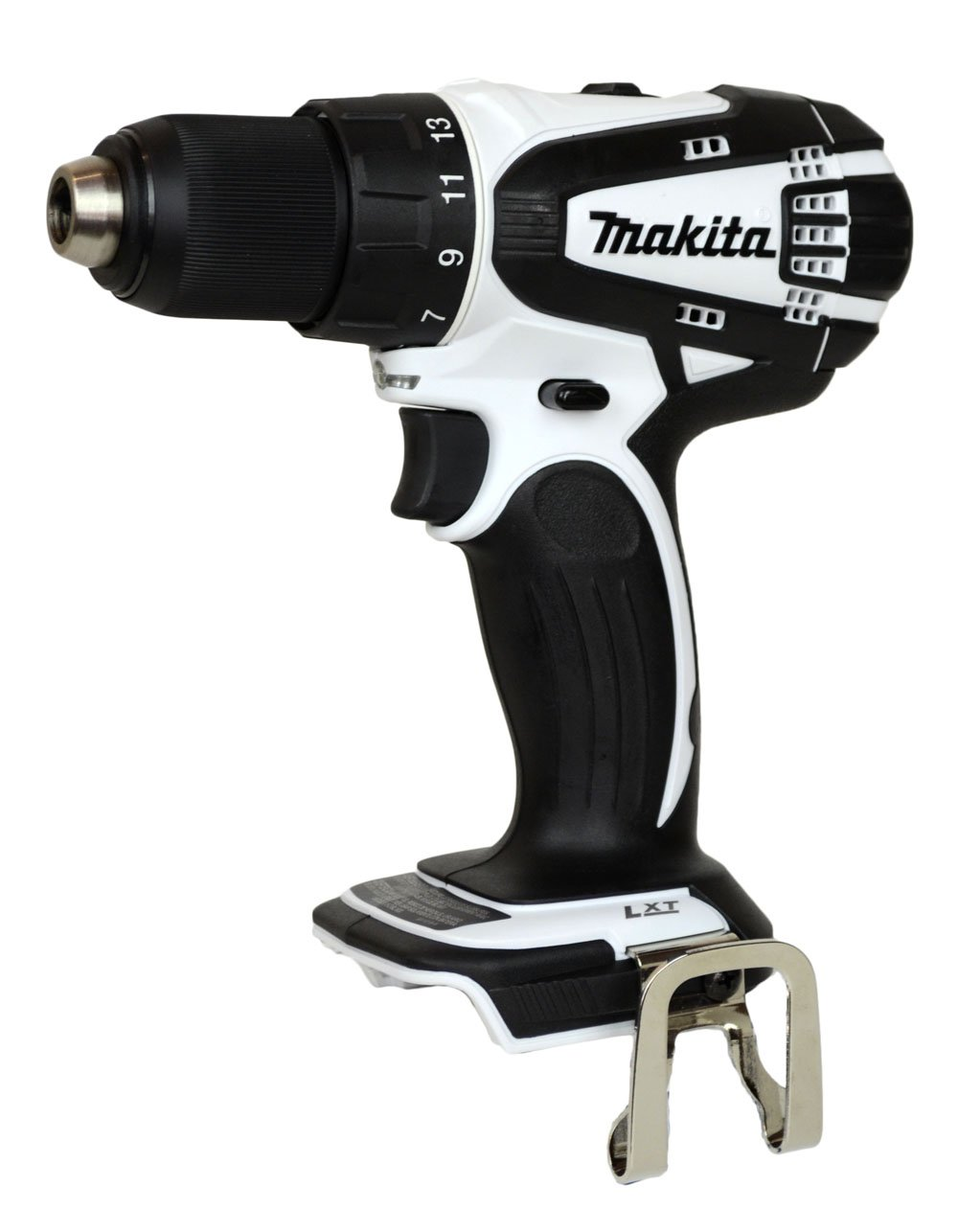 Makita 18V LXFD01 Lithium Ion White Drill Bare Tool Only, No battery or Charger Included