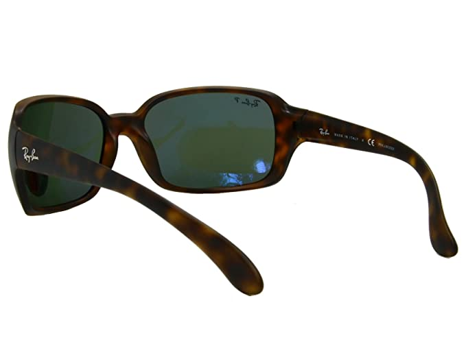 e1ddf85bef7 Ray Ban RB4068 894 58 Matte Havana   Brown Polarized Sunglasses   Amazon.co.uk  Clothing