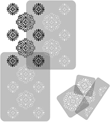 Reusable Plastic Wall Stencil //// 25.5 x 37.4 //// BRICK WALL //// Seamless Repetitive Allover Pattern Template