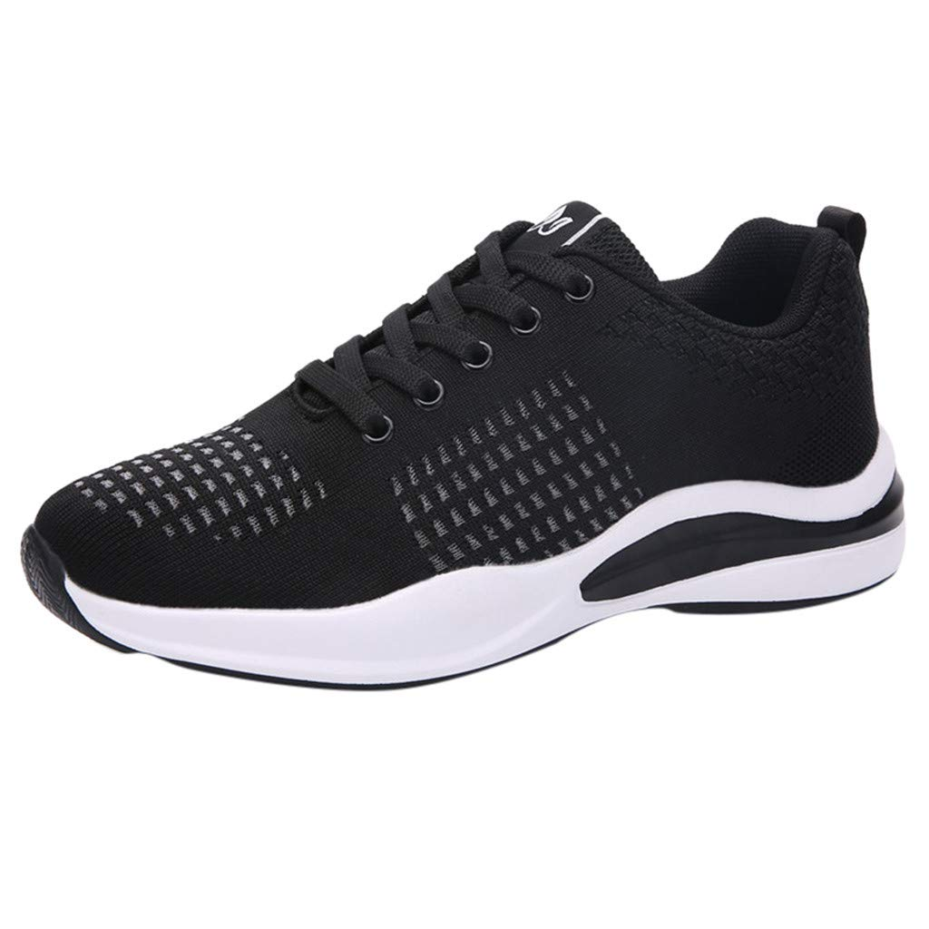 Moonker Womens Arch Support Sneakers Wide Width Running Shoes Ladies Girls Fashion Hollow Mesh Casual Shoes