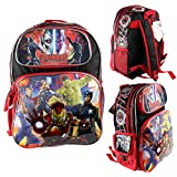 Brand New Marvel Avengers Age of Ultron Large School Backpack 16'' Boys Book Bag