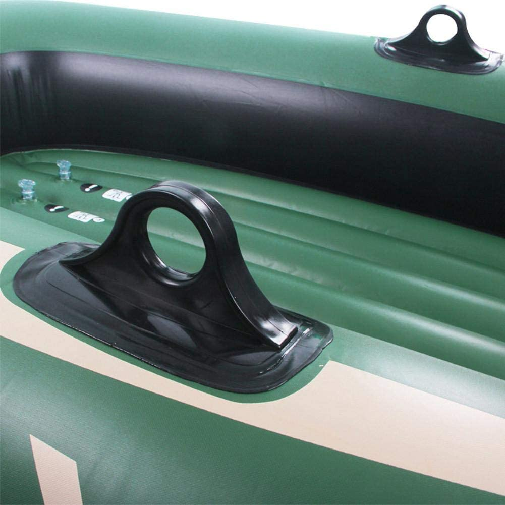 Inflatable Boat Kayak Canoe Fishing Boat With Double Valve For Adults Fishing