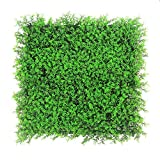 ULAND Artificial Hedges Panels, Boxwood Greenery Ivy Privacy Fence Screening Cover, Home Garden Outdoor Wall Decoration, Pack of 20 X20