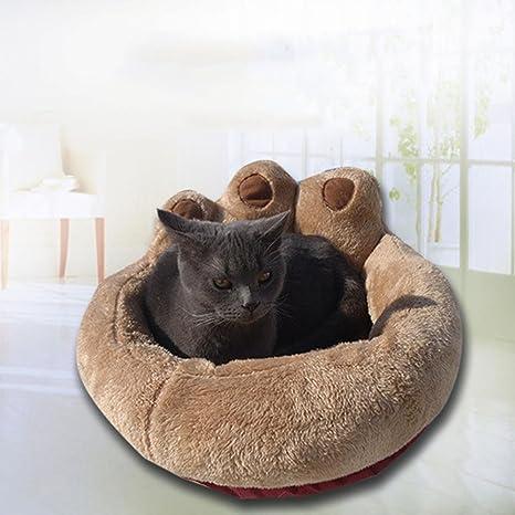 Weiwei Cama de Perro Goma de Mascotas Nido Alfombra paño Fondo Gato Basura Kennel