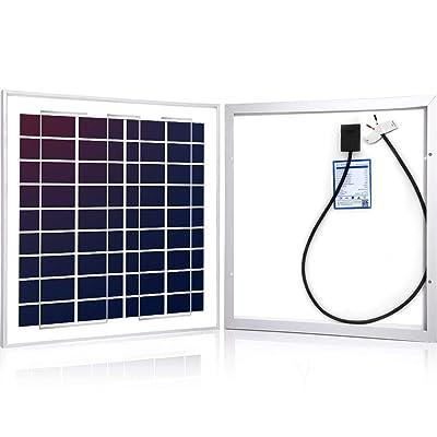ACOPOWER 15Watt 15W Polycrystalline Photovoltaic PV Solar Panel Module 12v Battery Charging : Garden & Outdoor