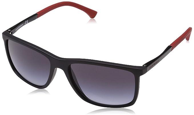 bda69f1c1a38 Emporio Armani sunglasses (EA-4058 56498G) Black - Red - Grey Gradient  lenses