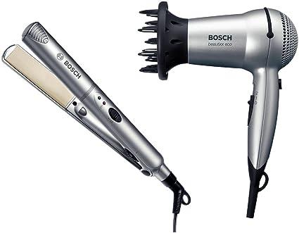 Bosch PSH3321 - Juego de secador de pelo (PHD3305) y plancha alisadora (PHS2105