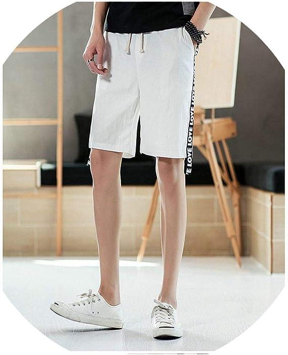 GridNN 2019 Men Womens Summer Beach Pants Casual Cotton Pants Shorts Fashion Pants