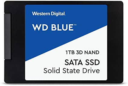 "Amazon.com: Unidad de estado sólido interna WD Blue de 1 TB 3D NAND SATA III 6 Gb/s de 2,5"": Computers & Accessories"