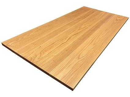 Amazon Com Armani Fine Woodworking Red Oak Tabletop 30 X 60 X 1