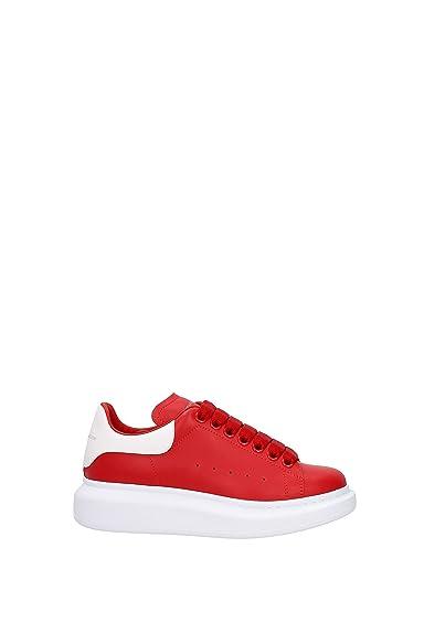 5e70f631af66a Alexander McQueen Sneakers Women - Leather (462214WHGP5) UK: Amazon ...