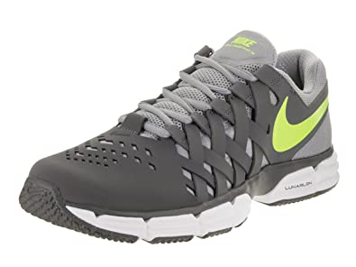 Nike Men's Lunar Fingertrap Tr Training Shoe Grey/Volt Stealth