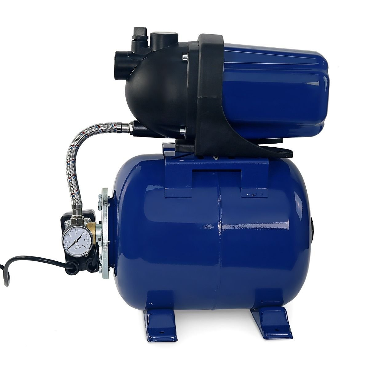 1.6 HP 1'' Garden Water Jet Pump with Automatic Booster System Shallow Well Fountain Garden Lawn Sprinkler System by Generic