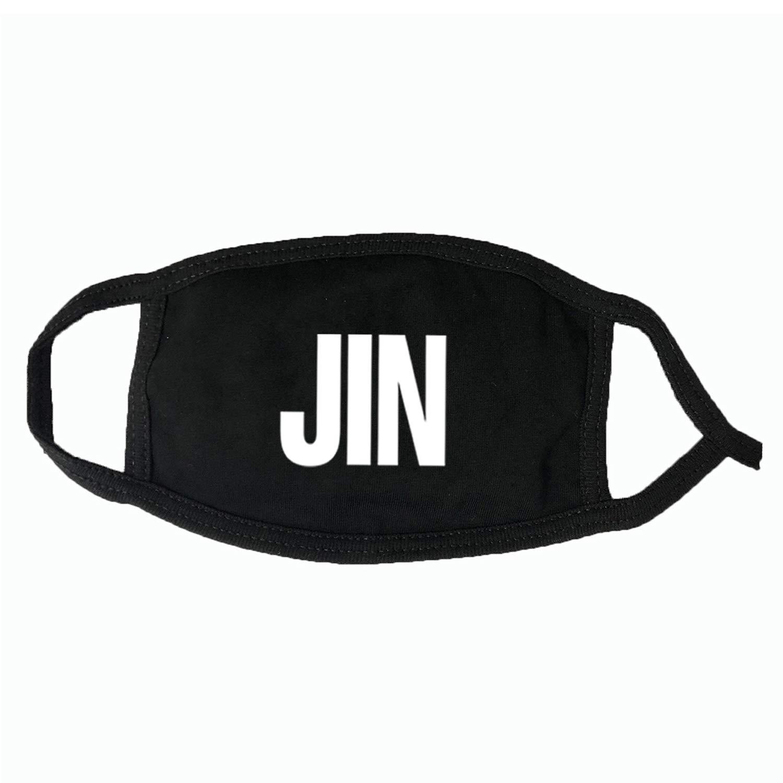 DHSPKN BTS Mouth Mask Bangtan Boys Respirator Jimin Suga V Jungkook Unisex Face Muffle
