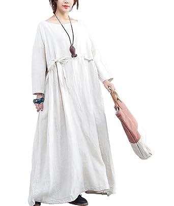 ac166972570 Yesno QV3 Women 51 quot  Floor Length Long Loose Maxi Caftan Dress  Zen   Gown