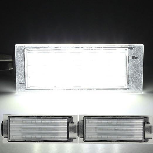 Luz para matrícula de coche Renault, de la marca Katur