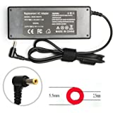 90W AC Laptop Adapter Charger for Asus K52F K53E K55A K55N U56E X550 X550CA X550L X550LA X551C X551CA X551M X551MA X551MAV X751MA ADP-65JH BB EXA0703YH ADP-65GD B Power Supply Cord