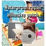 Adhesive Repair Seal Bond Waterproof TPU Patches - swimming pool air bed pack of 4