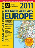 AA Road Atlas Europe 2011