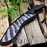 18.5'', 4.5mm Thick Urban Camo Heavy Kukri Machete with Carbon Sharp Blade Durable w/ Sheath