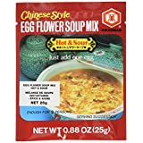 Kikkoman Chinese Style Egg Flower Soup Mix Hot and Sour, 25g