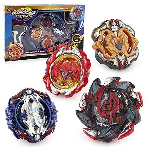 Battling Top Bay Burst Battle Avatar Attack Battle Set with Two Launcher and Grip Starter Set and Arena