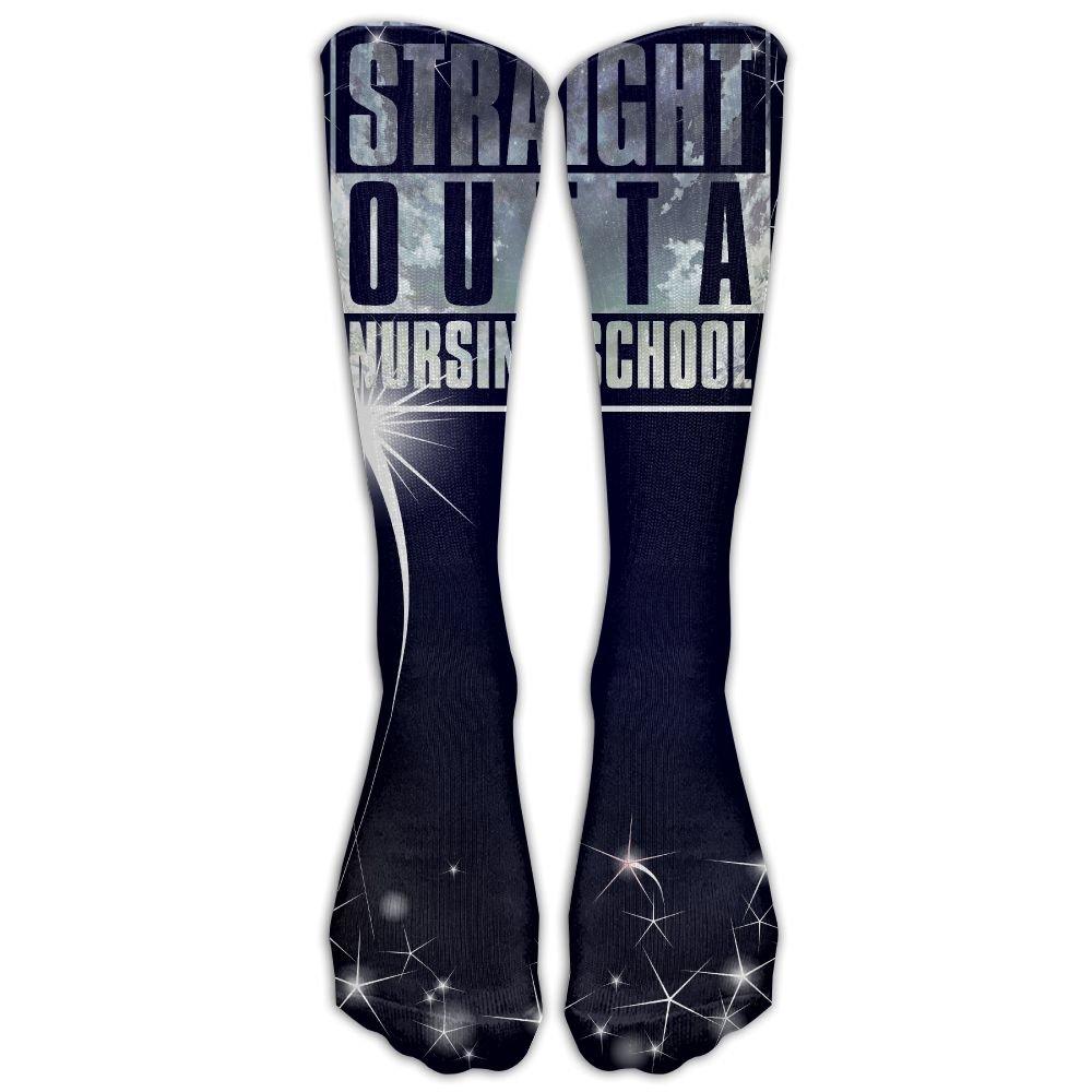 Librarian Author Writer Reading Book Nerd Designer Funny Socks Leg Warmer Tube Socks POPEOKIS