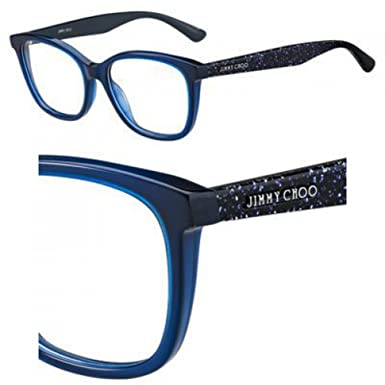 30293536c636 Eyeglasses Jimmy Choo Jc 188 0JOJ Blue Glitter at Amazon Women's ...