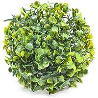 L-KCBTY Bola de Plantas Artificiales, protección Ambiental, Tejido