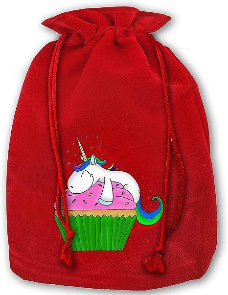 Cupcake drawstring bag