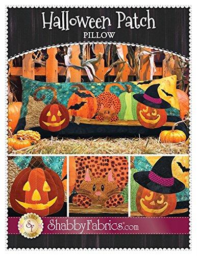 Halloween Patch Table Runner Quilt Pattern Shabby Fabrics Pumpkins]()