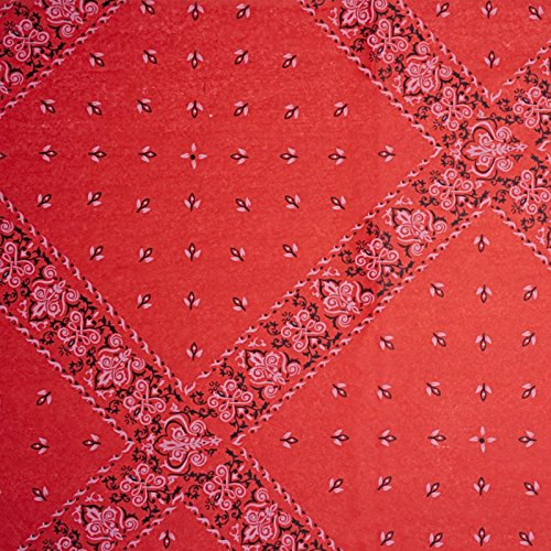 (240ea - 20 X 30 Red Bandana Tissue Paper Christmas)