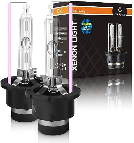 SOCAL-LED 2x D2R HID Lampadine 35W AC OEM Xenon Faro diretto Sostituzione 4300K Bianco caldo