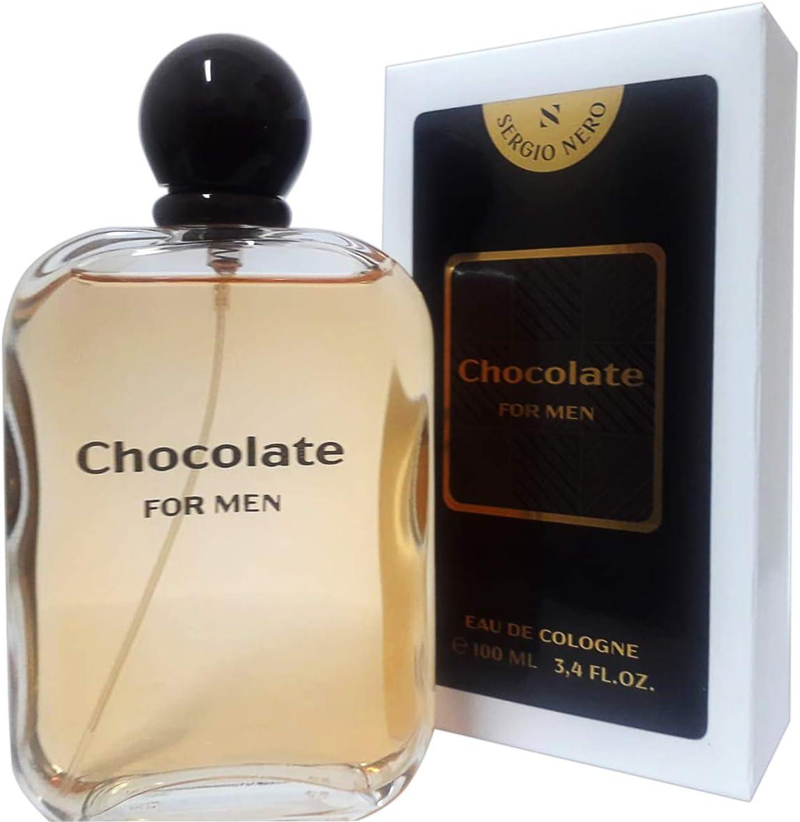 SERGIO NERO • CHOCOLATE Eau de Cologne/Agua de colonia para ...