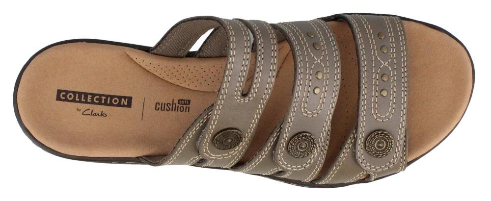 CLARKS Leisa Lakia Women's Sandal B0788YQ355 6 W US Sage