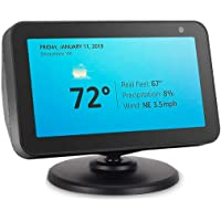 AutoSonic Stand for Echo Show 5, Adjustable Stand Mount Accessories Compatible with Amazon Echo Show 5, Magnetic Attachment,360 Degree Swivel, Tilt Function, Anti-Slip Base, 2019 Release, Black