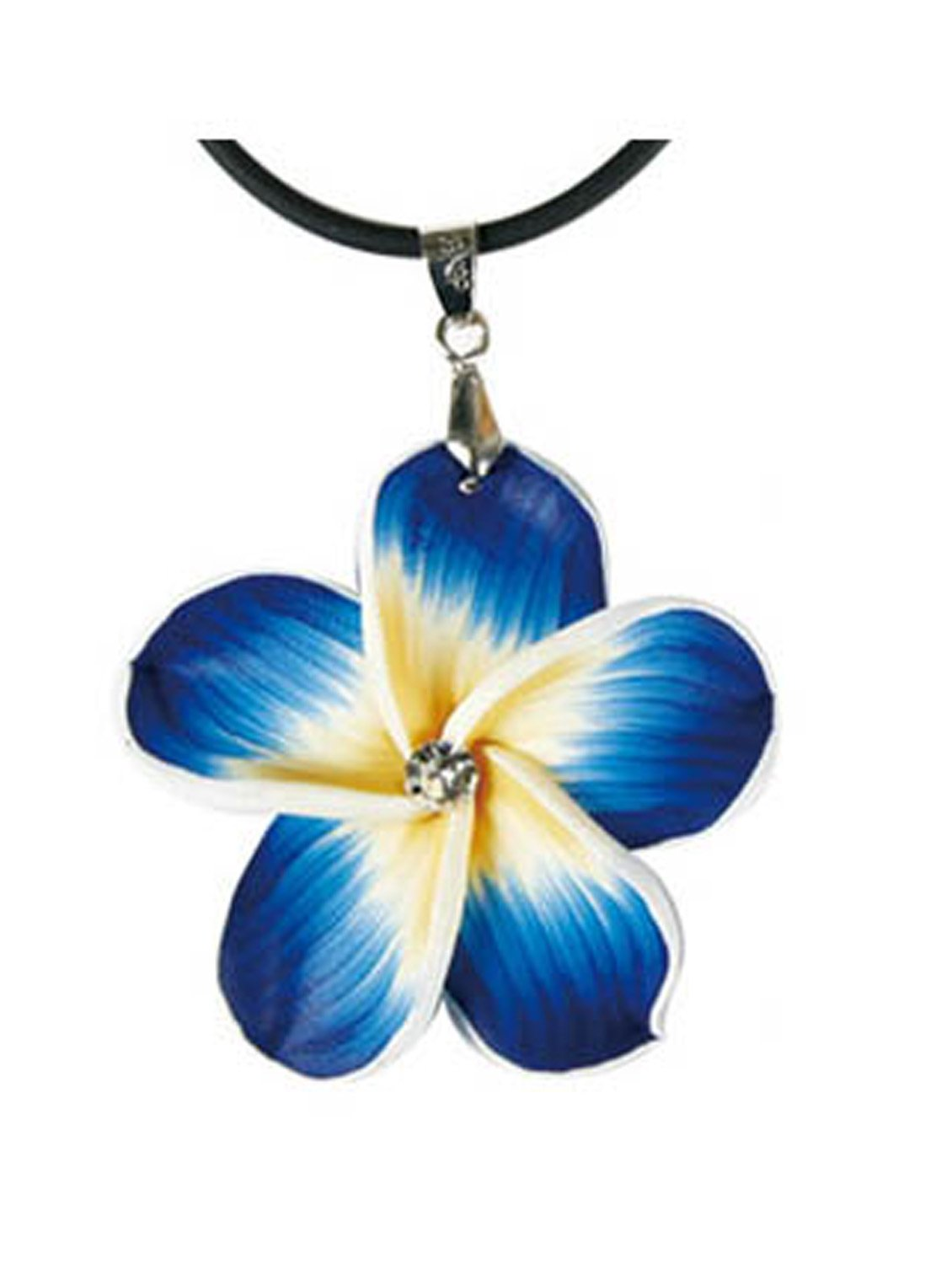 Amazon blue hawaiian flower necklace flower petal necklace amazon blue hawaiian flower necklace flower petal necklace toys games izmirmasajfo
