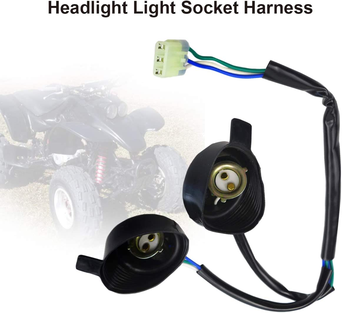 Electrical & Batteries Headlight Light Socket Wiring Harness for ...