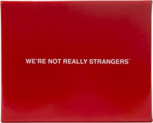 We're Not Really Strangers Card Game - An Interactive Adult Card Game and Icebreaker