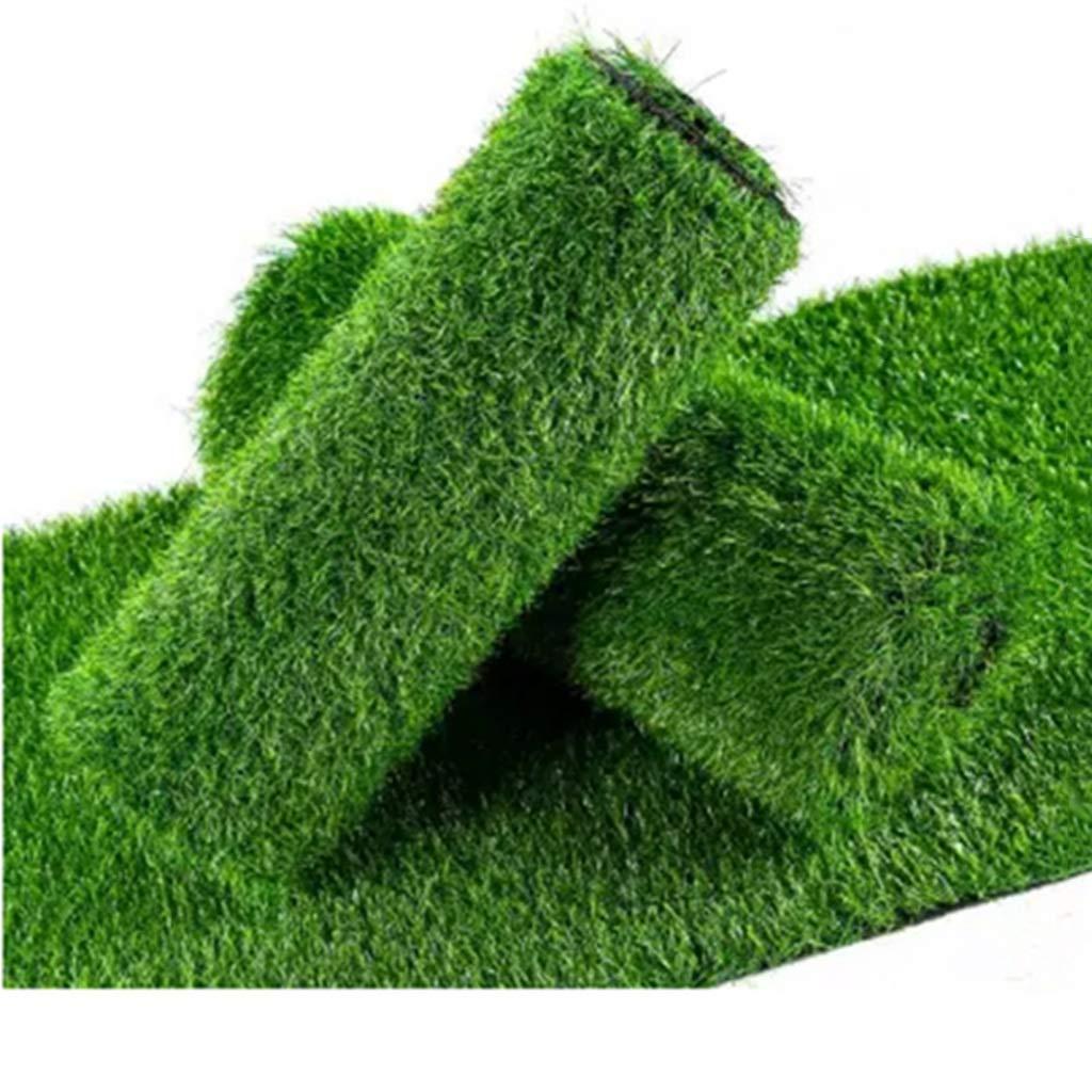 YNFNGXU 10mmの山の高さの人工的な極度の密な芝生の庭の芝生2 x 1m (サイズ さいず : 18x1m) B07RKV5LRS  18x1m