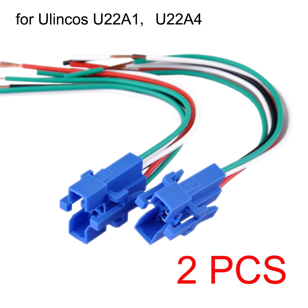 Amazon.com: Ulincos 22mm Pigtail, Wire Connector, Socket Plug for ...