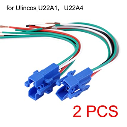 Outstanding Amazon Com Ulincos 22Mm Pigtail Wire Connector Socket Plug For Wiring 101 Tzicihahutechinfo